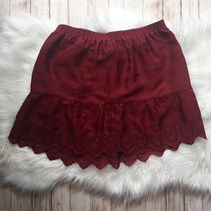 "Madewell Skirts - Madewell ""Duskaway"" Eyelet Skirt NWT"